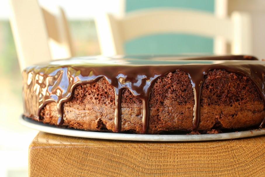 עוגת שוקולד שוקולדית