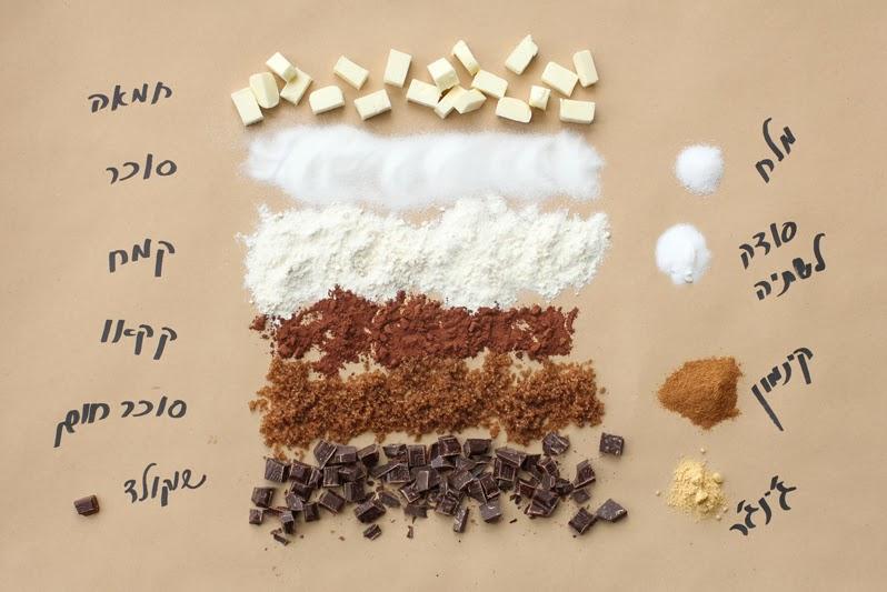 עוגיות דאבל שוקולד