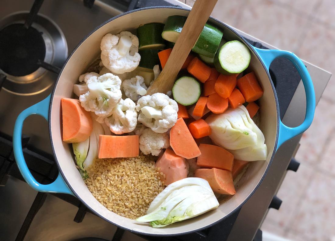 ירקות בקארי